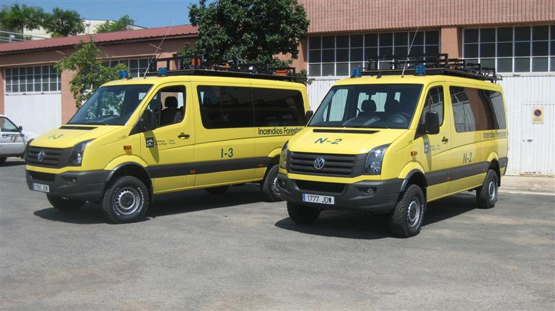alquiler de furgonetas en Santa Marta de Magasca